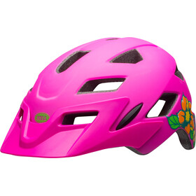 Bell Sidetrack Y MIPS Youth Helmet matte pink/lime